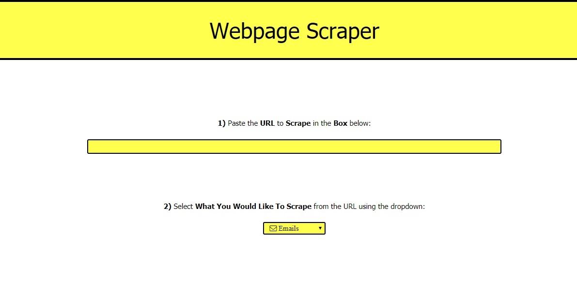 Page Scraper